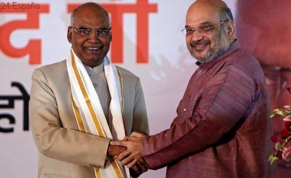 El 'intocable' Ram Nath Kovind, nuevo presidente de la India