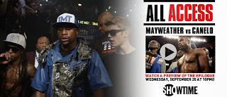 ALL ACCESS: Mayweather vs. Canelo Epilogue Premieres Tonight at 10 p.m. ET/PT on SHOWTIME ★Starlite★ Boxing's Sweetscience©®™