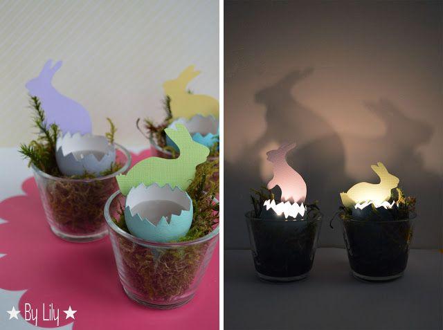Quand les oeufs simprovisent lanternes... {Pâques}  Au fil des ...