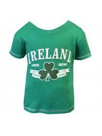 Green Ireland Shamrock T-Shirt