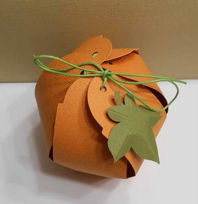 Pumpkin Box with CCR file #Cricut