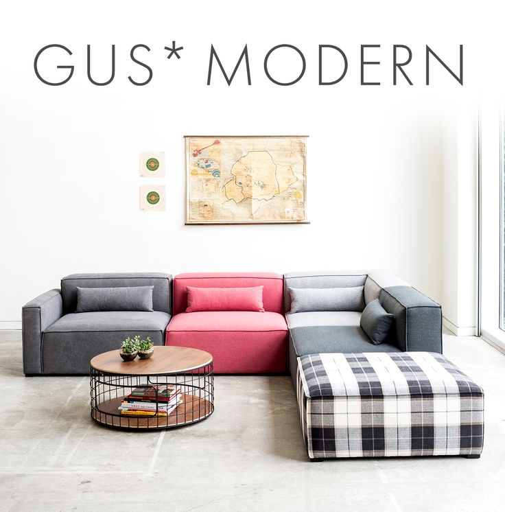 Mix modular sectional by gus design group find this pin and more on modern living room by yliving