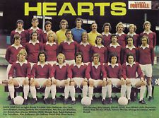 Hearts team group in 1974-75.