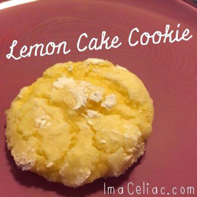 lemon cake cookie gluten free gluten free cookies gluten free desserts ...