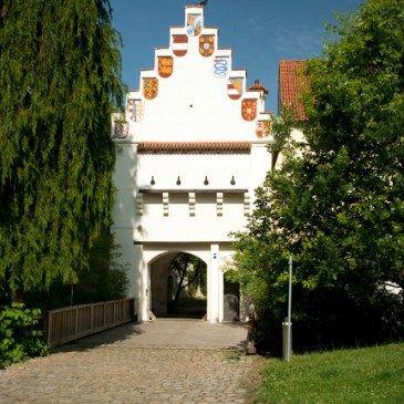 Medieval Castle Grünwald South of Munich