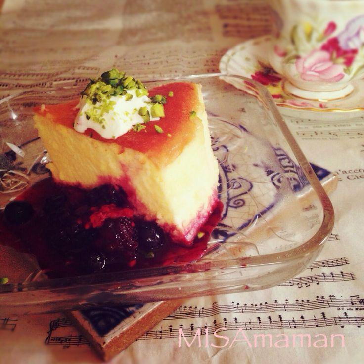 みさmaman's dish photo ノンオイルのしゅわふわスフレ | http://snapdish.co #SnapDish #レシピ #お花見 #ケーキ