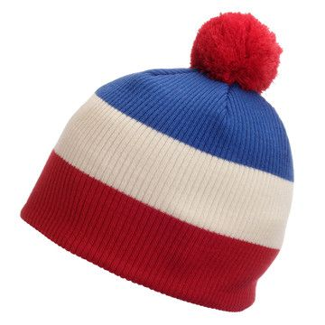 Avau Beanie Red White Blue, $21, now featured on Fab.