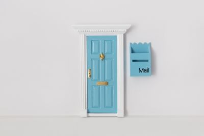Fairy Door With Mailbox Pack