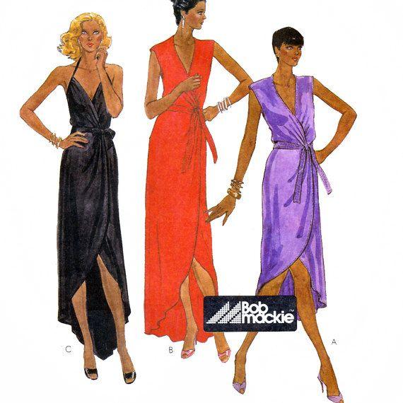 Patron de couture McCall 7374 Vintage des années 80 par Bob