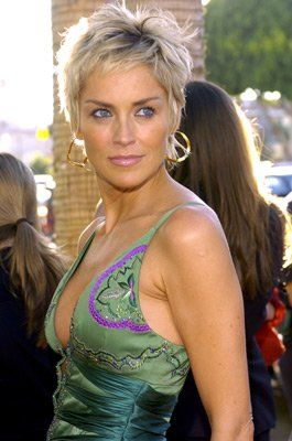 Sharon Stone at event of Catwoman