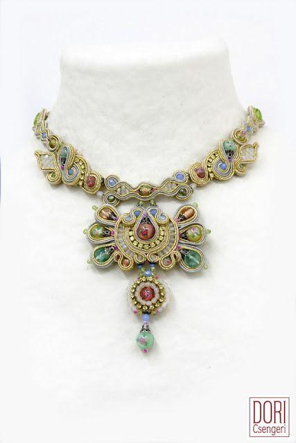 Amazing Soutache Jewelry by Dori Csengeri - The Beading Gem's Journal