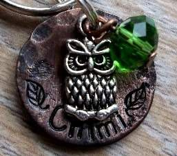 Diesel: Little Hoot  SMALL Pet ID Tags/Tag  Silver by FetchAPassionTags, $14.00
