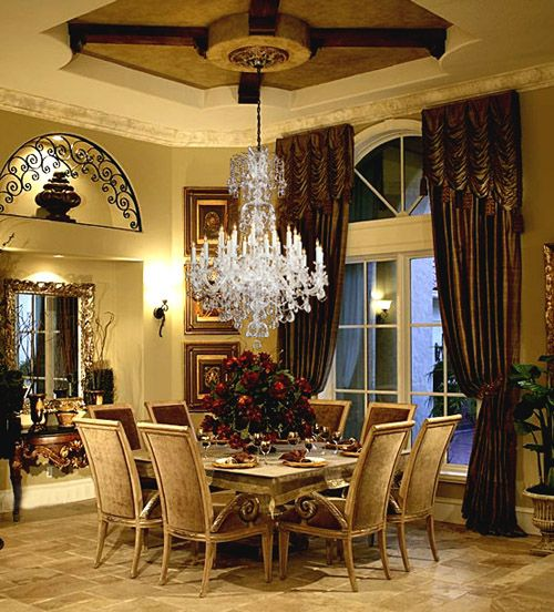 Old World Dining Room Chandeliers: 17 Best Images About Lovely Dining/Breakfast Rooms On