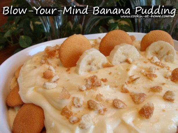 Blow-Your-Mind Banana Pudding | Cooking at Home