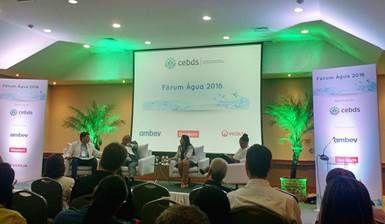O Instituto Trata Brasil participa, nesta quarta-feira, do Fórum Água 2016 realizado pela CEBDS. Além de identificar os principais desafios enfrentados pelo setor empresarial na gestão de recursos hídricos,  o evento busca estratégias para superá-los.