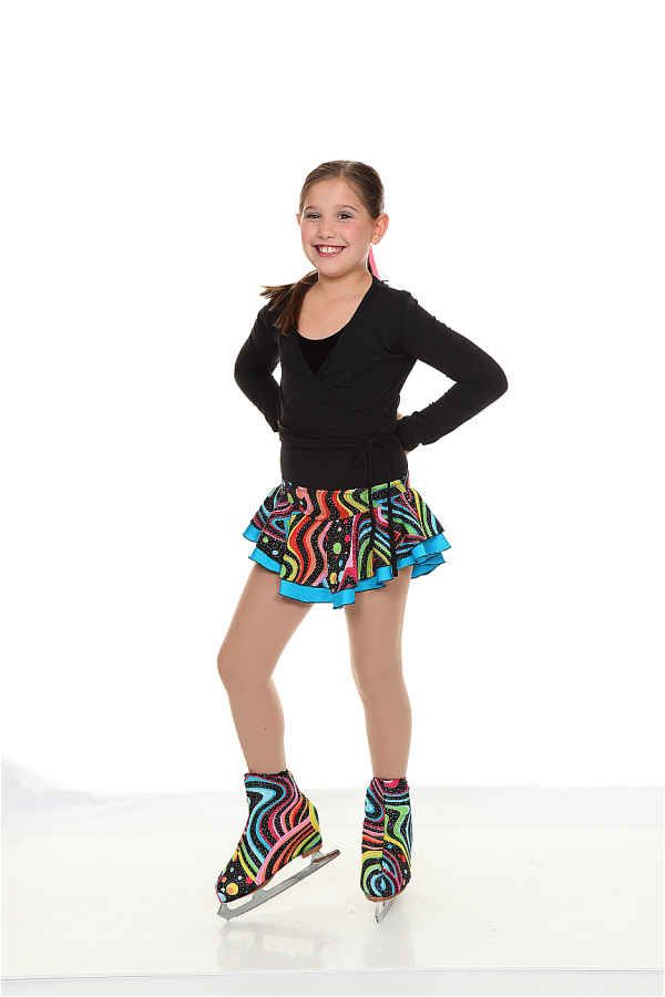 cute double layer skirt with fun print from Twizzle