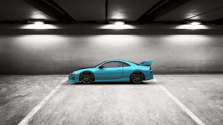 Checkout my tuning #Mitsubishi #Eclipse 2003 at 3DTuning #3dtuning #tuning