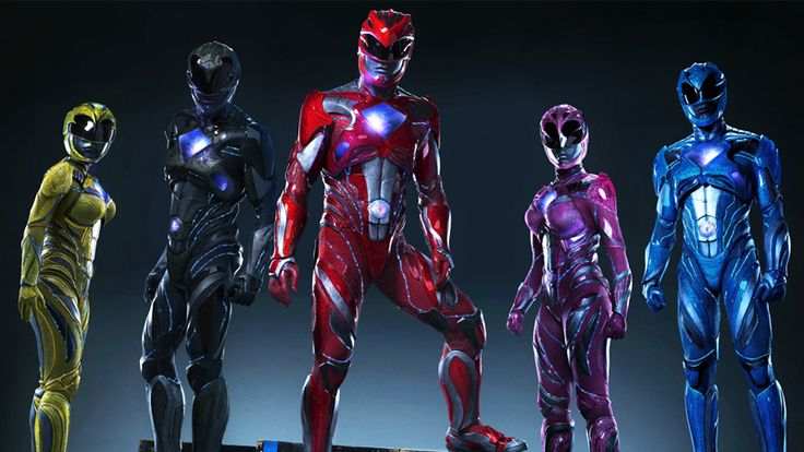 Here's Your First Look at the New Power Rangers Movie Suits