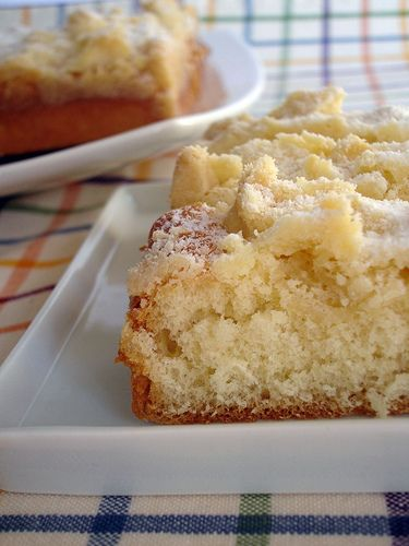 Streuselkuchen , an amazing German crumb cake. You have to try to believe.