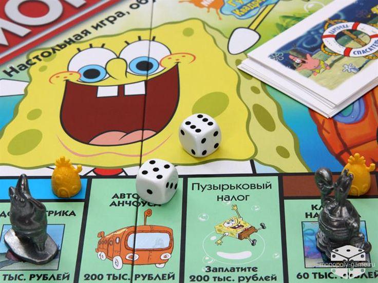 Монополия губка боб квадратные штаны игры