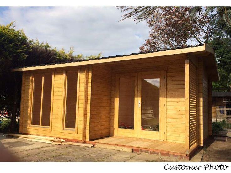 Fancy DIY Small Log Cabin Kit Sunset Prefab Wooden Cabin Kit For Sale Solid wood