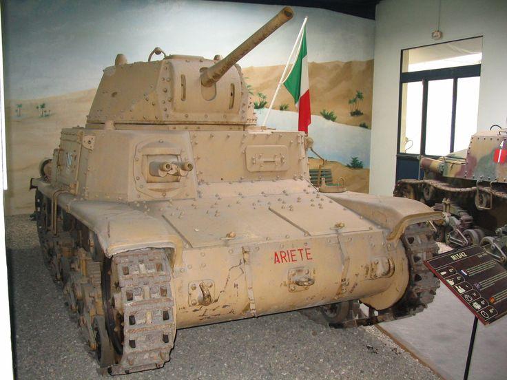 Carro  Armato  Medio Fiat-Ansaldo M 15/42