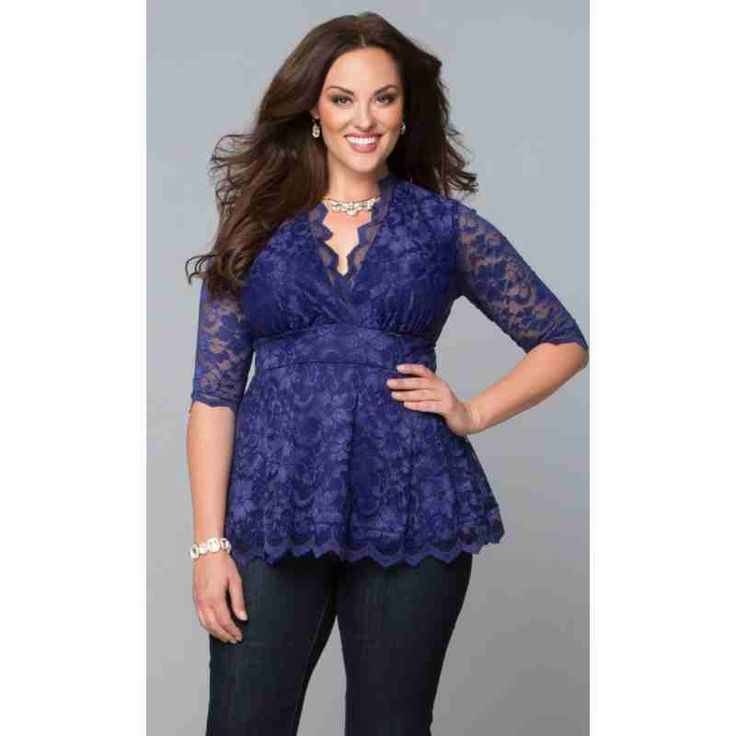 Linden Lace Top (Sapphire) $97.00 http://www.curvyclothing.com.au/index.php?route=product/product&path=95_103&product_id=8500