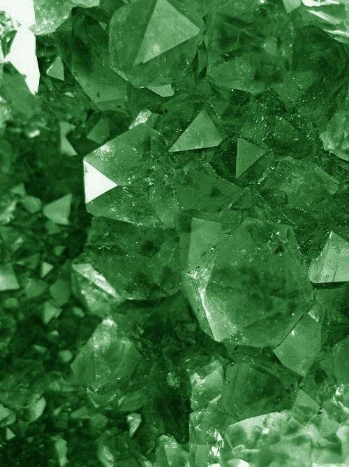 emerald - love & romance, wisdom, abundance, mercy. Enhances joy, cleansing and faith.