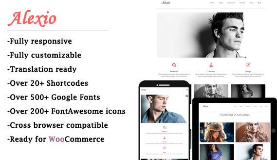 Download Free Alexio v1.0 Modern & Stylish WordPress Theme