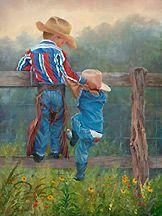 ART ~June Dudley: Cowboy Up