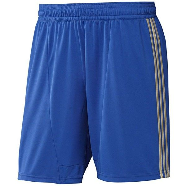 Chelsea FC Home Shorts (115 BRL) ❤ liked on Polyvore featuring men's fashion, men's clothing, men's activewear, men's activewear shorts, mens activewear shorts and mens activewear