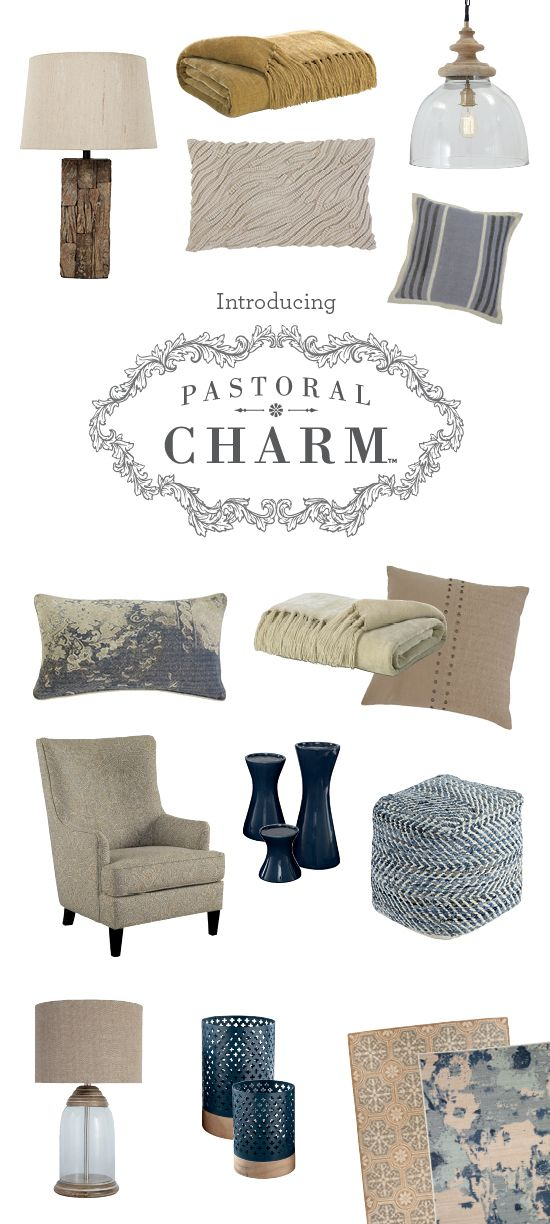 Pastoral Charm™ Accessories - Lamps, Pillows, Rugs, Throws, Poufs - Ashley Furniture