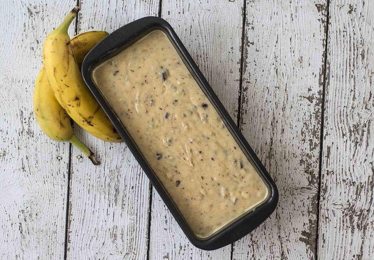 Opskrift på hjemmelavet banankage med chokolade