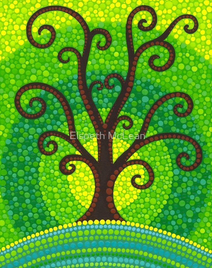 «unfurling tree of lushiousness» de Elspeth McLean