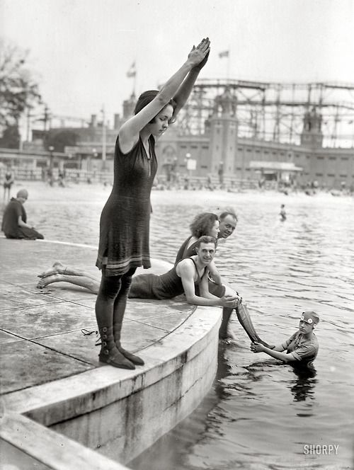 Starlight Park in The Bronx, NY, 1921.