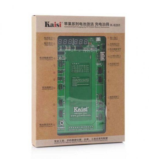 K 9201 K 9208 Cell Phone Battery Activation Charge Board For IPhone, From