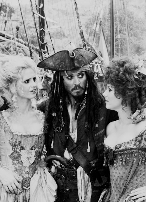 """""""Yes I lied to you. No I don't love you. Of course it makes you look fat! No I've never been to Brussels. It's pronounced Egregious. By the way no, I've never met Pizarro, but I love his pies! And all of this pales to utter insignificance in light of the fact that my ship is once again gone. Savvy?!""""- Jack Sparrow. Magnificent."""