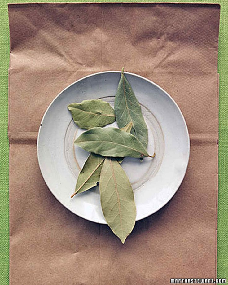 Bug-Free Pantry Tip | Martha Stewart Living - Keep grain moths at bay. To keep tiny bugs out of your pantry, try taping whole dried bay leaves to the sides and bottoms of your shelves.