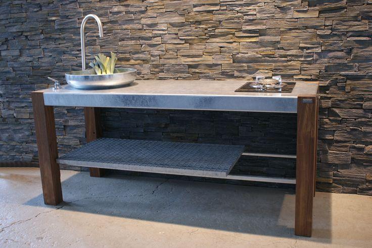 Savra from Thors Design. Grill, barbecue, outdoor kitchen, gril, udendørs køkken