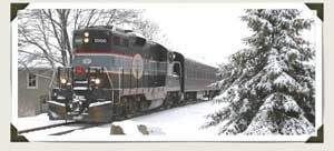 All Aboard the Santa Train!:  Orangeville