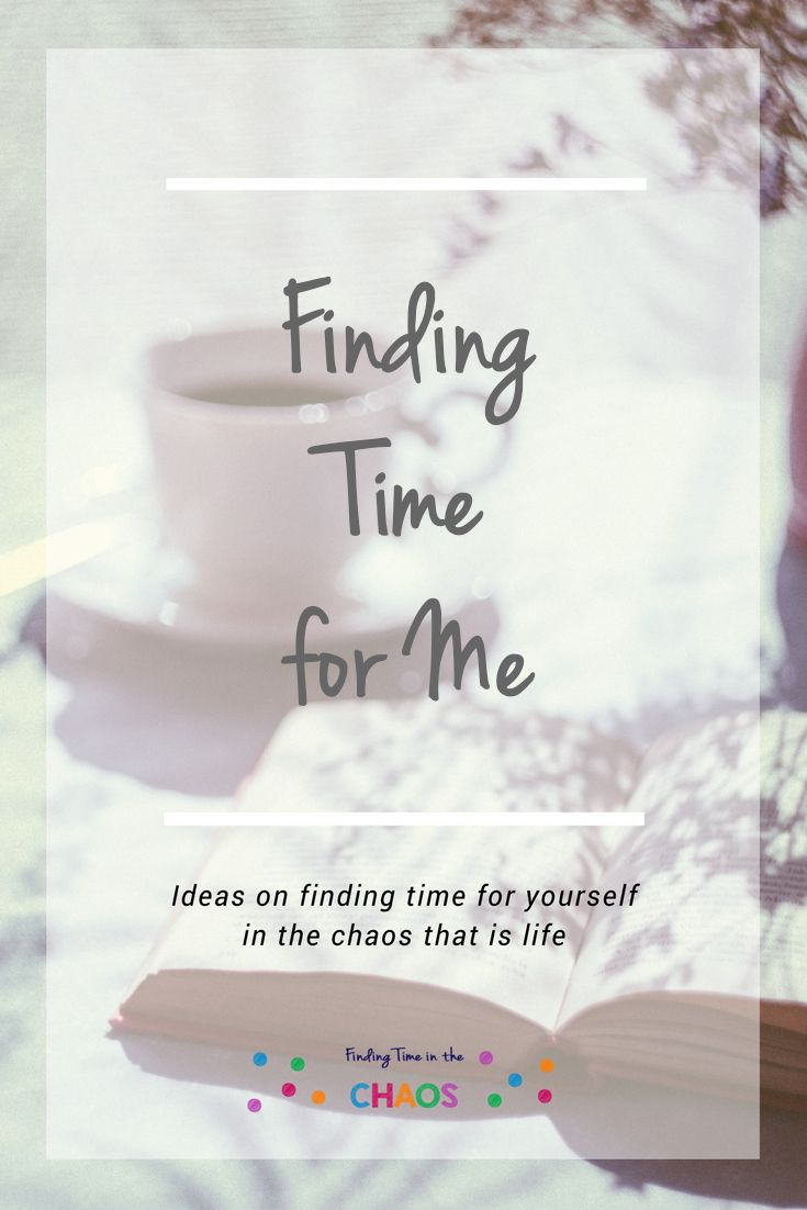 Do you want to just find 5 minutes to yourself. Here are some Ideas on finding time for yourself in the chaos that is life. www.findingtimeinthechoas.com.au
