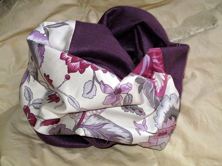 Snood de La vie en DIY - Infinity scarf
