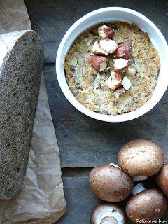Delicious blog: Žampiónová tofu paštika