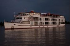 """The Jahan - Heritage Line Inspired by the """"golden age of travel"""", Heritage Line takes visitors to remote and authentic locations without sacrificing service or amenities.  Built for beauty as well as comfort, their boats are inspired by craft that plied these waters in the early 1900s."""