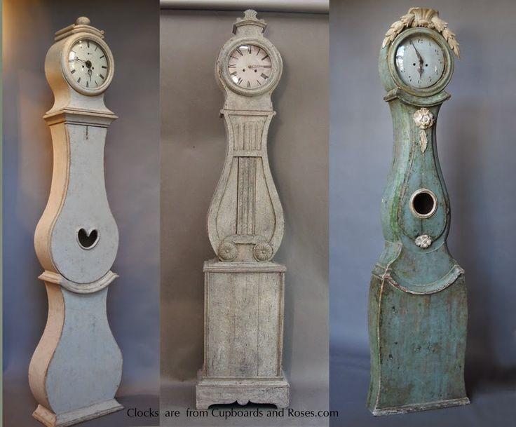 Antique Swedish Mora Clocks