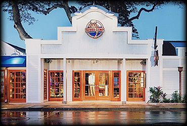 The Bubba Gump Shrimp Company in Lahaina, Maui. One of my favorite places to eat when we are there! Love that coconut shrimp... Yum!
