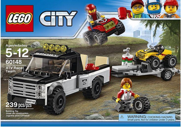 LEGO City ATV Race Team 60148, Pickup Truck, New Sealed Box #Lego