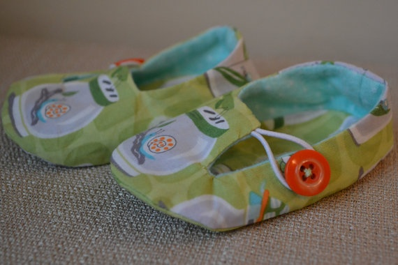 Bug Jar Jack and Jill Loafers03 months for boys by LittlePort, $20.00