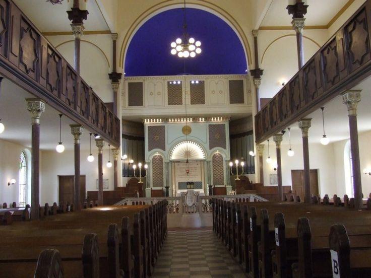 Ujpest synagogue interior, Budapest