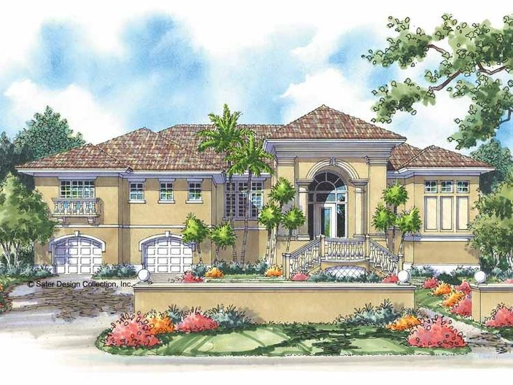 Eplans Mediterranean House Plan   Spacious And Stylish   2433 Square Feet  And 3 Bedrooms From. Mediterranean Homes PlansMediterranean StyleBuild ...